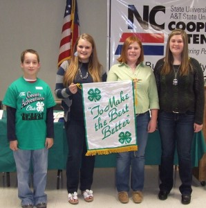 Cover photo for Burke County 4-H Elects New Officers for 2013