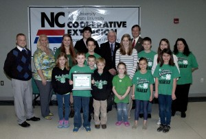 Cover photo for Extension Honors 4-H Club of the Year