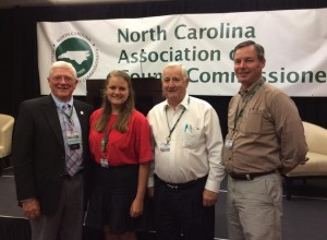 Cover photo for Burke County Youth Attends NCACC Youth Summit