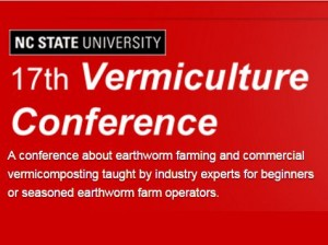 Cover photo for The 17th Vermiculture Conference Is Just a Month Away on June 2-3.