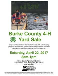 Cover photo for Burke County 4-H Yard Sale