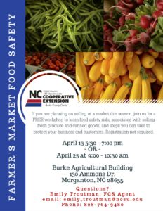 Cover photo for Farmer's Market Food Safety Workshop