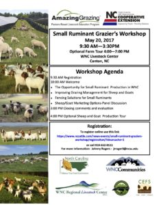 Cover photo for Small Ruminant Grazier's Workshop