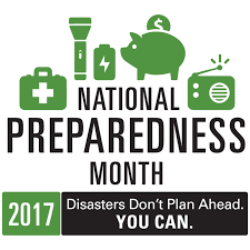 Cover photo for September Is National Preparedness Month