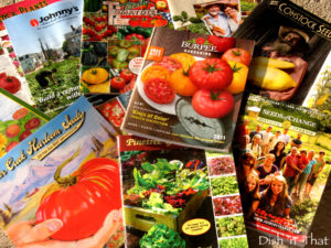 Cover photo for Seed Catalogs - the Gardener's Wish Book