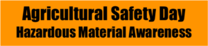 Cover photo for Agricultural Safety Day