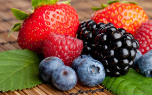 image of strawberries, blackberry, raspberries and blueberries