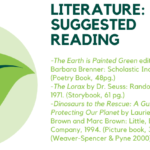 suggested reading flyer