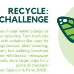 Recycle challenge flyer