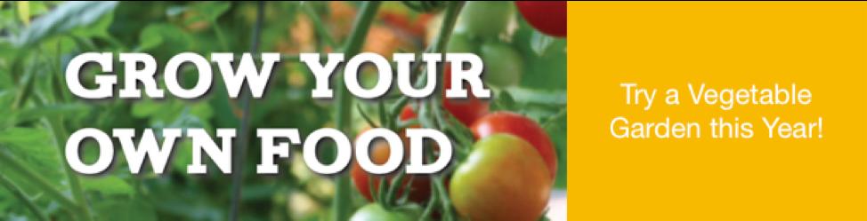grow your own food logo