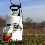 garden sprayer and fruit spray