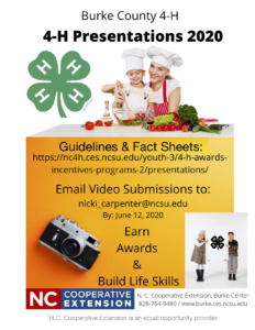 Burke County Presentations Flyer