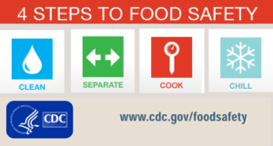 4 step food safety logo