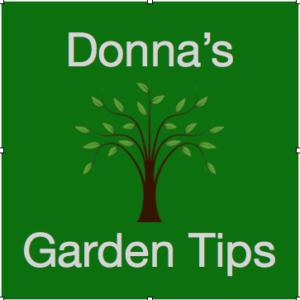 Donna's Garden Tips logo