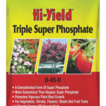 bag of hi-yield triple super phosphate