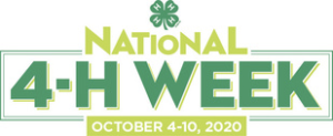 national 4-H Week 2020 logo