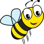 clipart of honey bee
