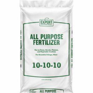 bag of 10-10-10 fertilizer